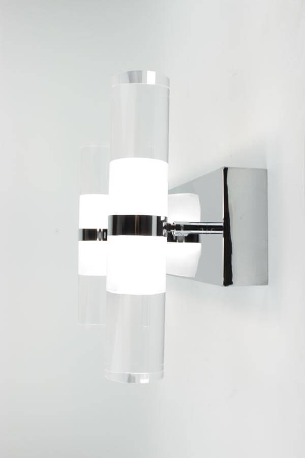 Contemporary Led Vanity Lights : EQLight Kabah 2 LED Contemporary Wall Light Vanity - EQLight