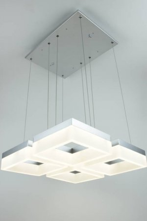 EQLight Atziri 4 Lights LED Contemporary Multi Pendant