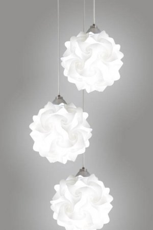 EQLight 3 Lights Hado Contemporary Multi Pendant Lamp