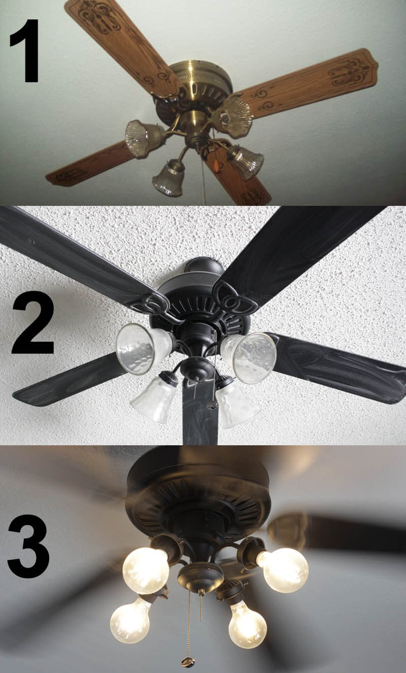 Convert your traditional ceiling fan into modern industrial eqlight convert your traditional ceiling fan into modern industrial aloadofball Gallery